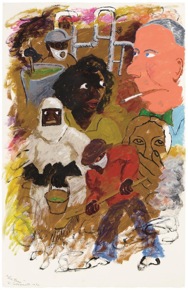 Robert Colescott-The Boss-1990
