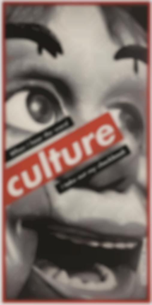 Barbara Kruger-Untitled (When I Hear The Word Culture I Take Out My Checkbook)-1999