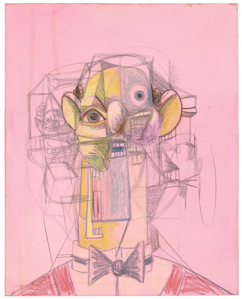 George Condo-Cubist Rodrigo-2008