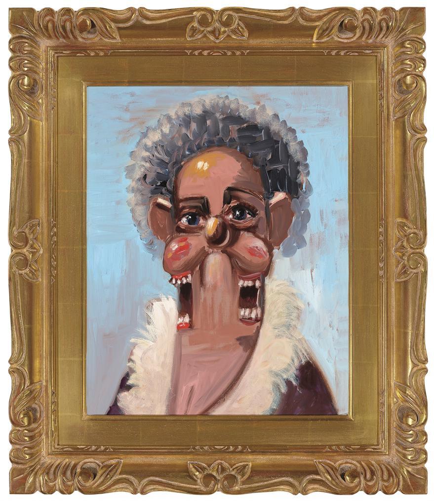 George Condo-Jean Louis Mother-2005