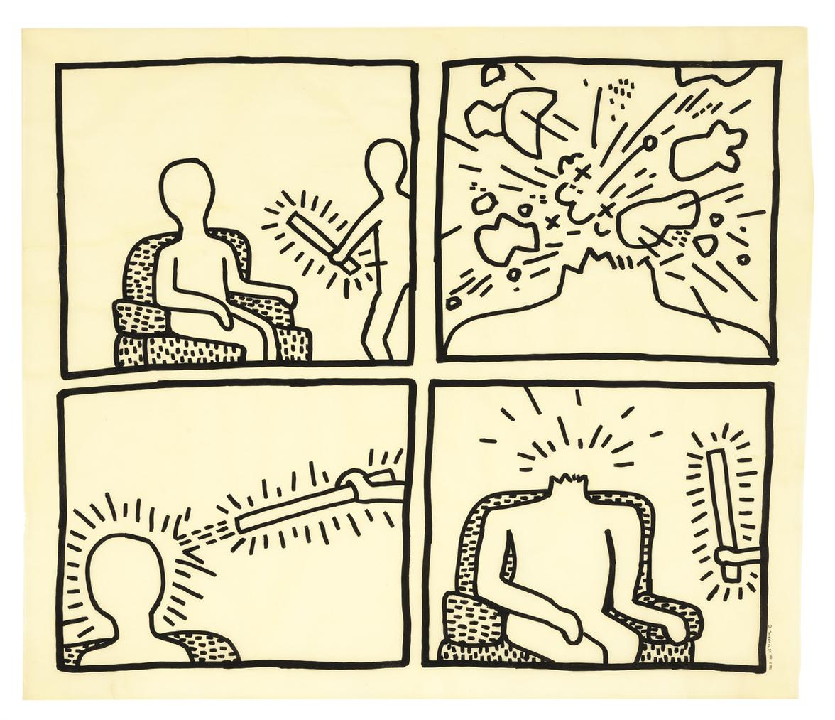 Keith Haring-Untitled-1981