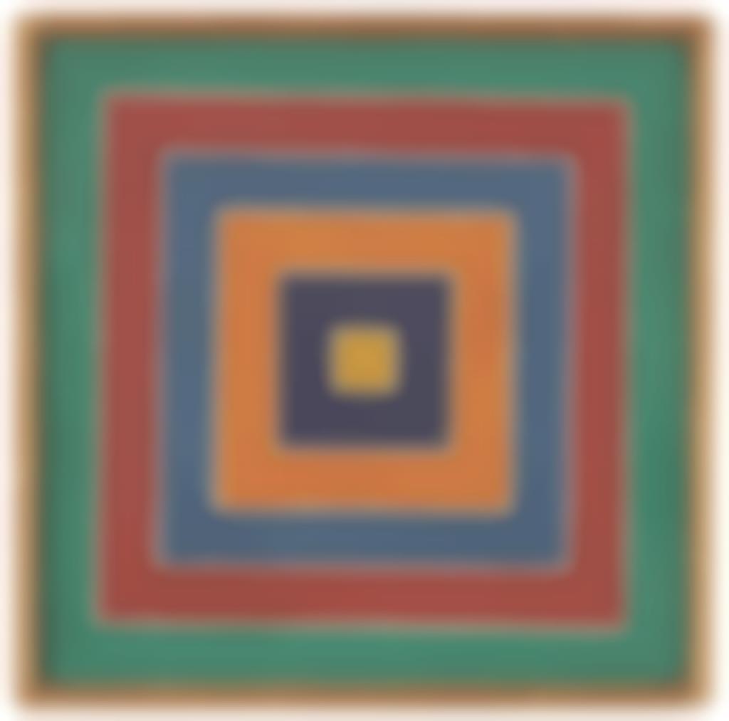 Richard Pettibone-Frank Stella, Untitled-1972