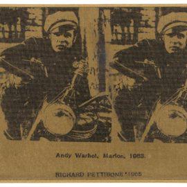 Richard Pettibone-Andy Warhol, Marlon, 1963-1965
