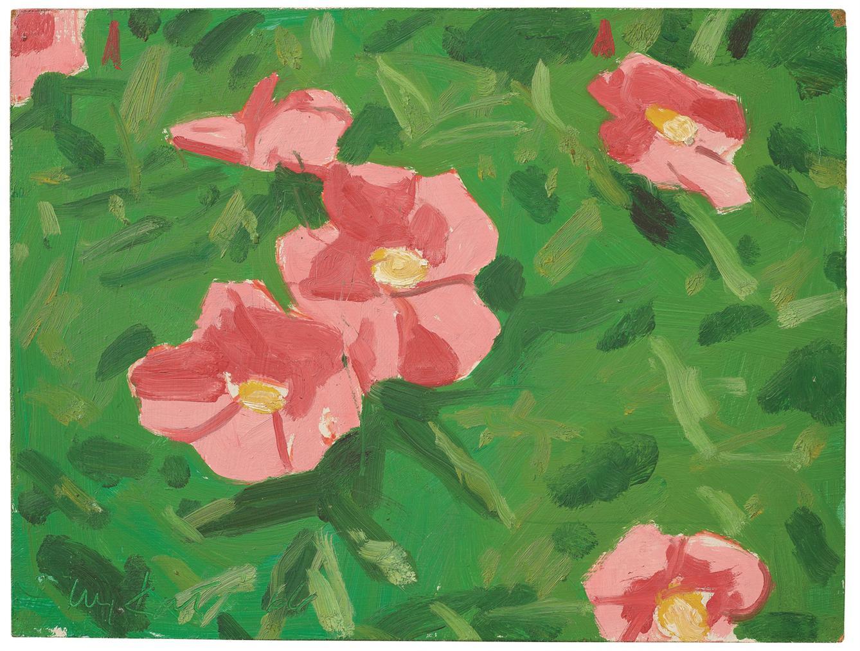 Alex Katz-Wild Rose I-1966