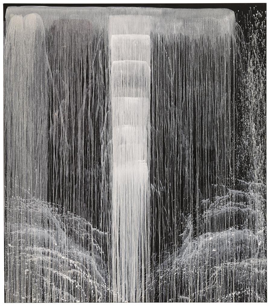 Pat Steir-Priscilla Waterfall-1991