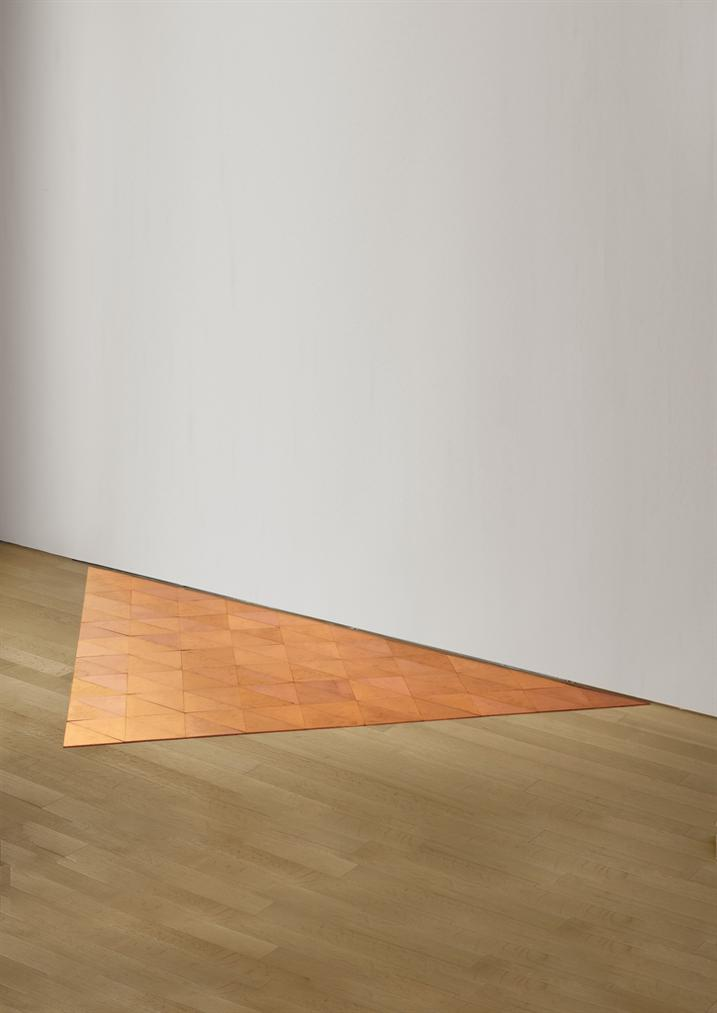 Carl Andre-Glarus Copper Delta-2006