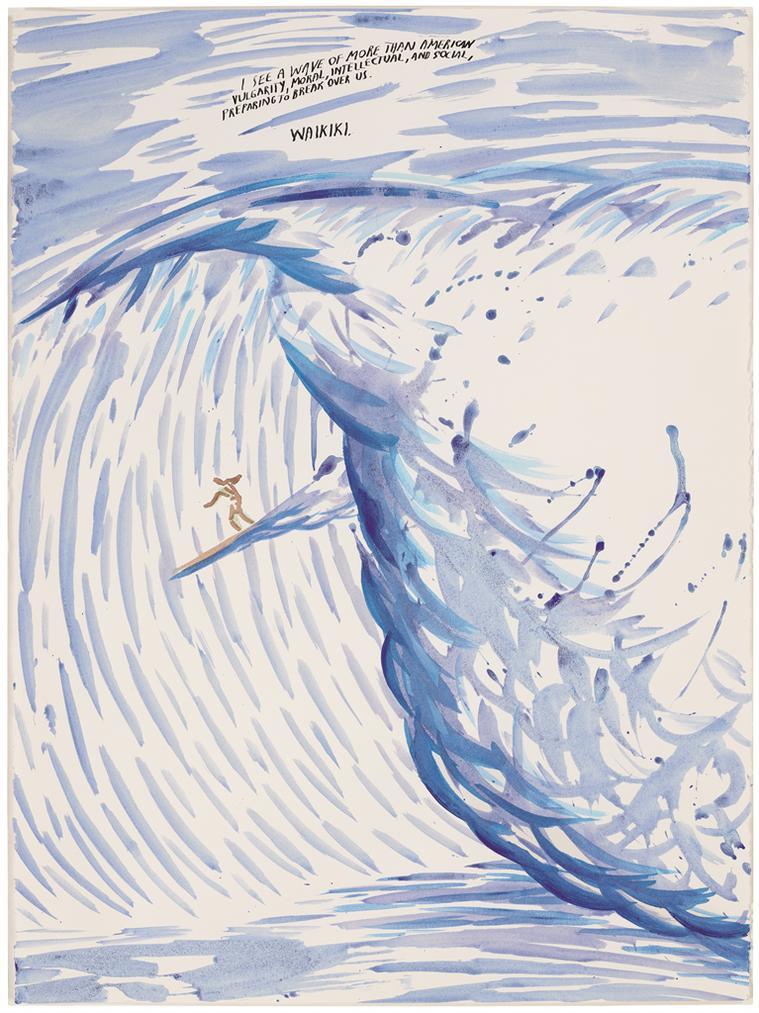Raymond Pettibon-No Title (I See A...)-1999