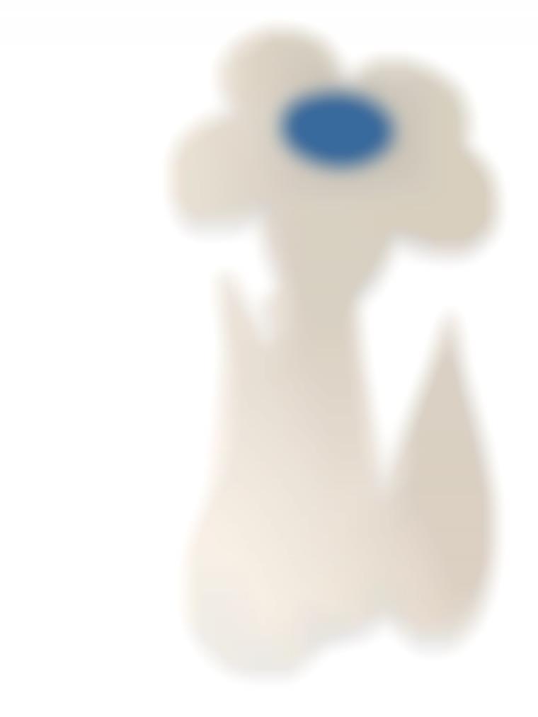 Jeff Koons-Inflatable Flower (Blue)-2000