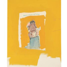 Jean-Michel Basquiat-Dinah Washington-1986