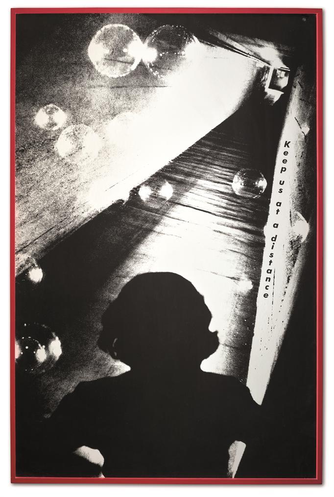 Barbara Kruger-Untitled (Keep Us At A Distance)-1983