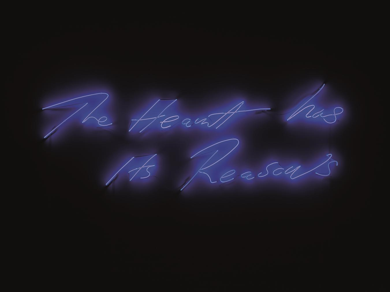 Tracey Emin-The Heart Has Its Reasons-2014