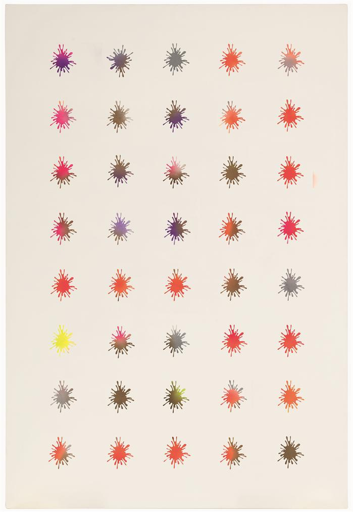 John Armleder-Untitled (Splash)-2002