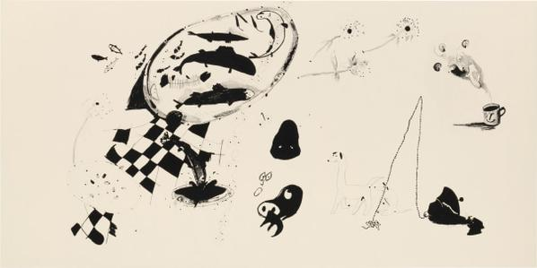 Calvin Marcus-Automatic Drawing #1-2014