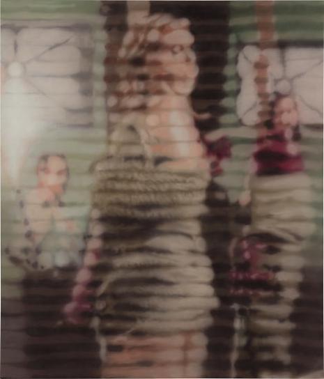 Raul Cordero-Flared Scene (With Condo Like Figure In The Background)-2013