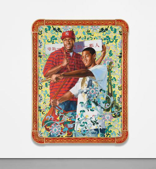 Kehinde Wiley-Defend And Develop The Island Together-2006