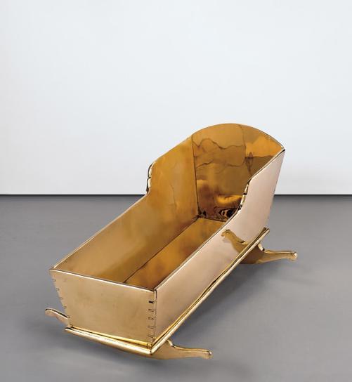 Sherrie Levine-Large Cradle-2009