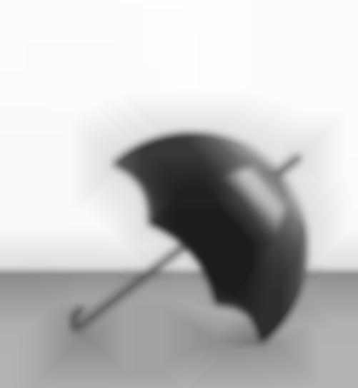 Katharina Fritsch-Schwarzer Schirm (Black Umbrella)-2004