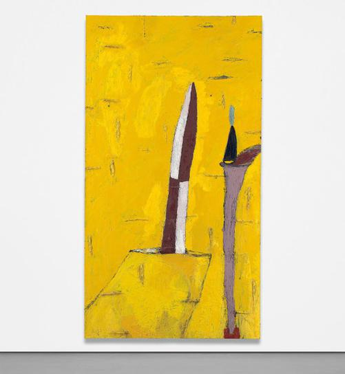 Julian Schnabel-No. 17 (Red Cross Painting For N. Fisher, 1978)-1978