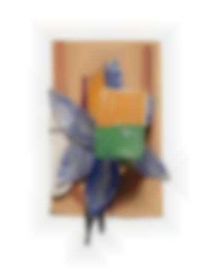 Richard Tuttle-Blue Star Transparent Orange-1986