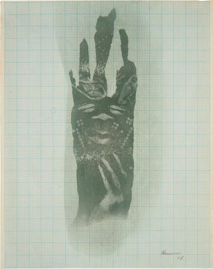 David Hammons-Untitled (Body Print)-1974