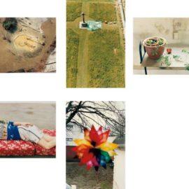 Wolfgang Tillmans-Five Works: (I) Playground, Luxembourg; (II) Charterhouse; (III) Still Life, Herold Street; (IV) Volker, Lying; (V) Weihnachtsstern-2001