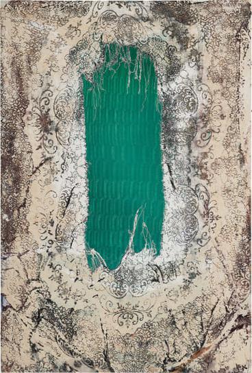 Mark Flood-Green Ice-2014
