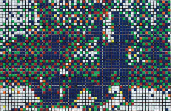 Invader-Rubik Mr. Pink And Mr. White-2007