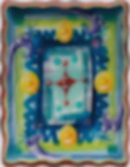 Kenny Scharf-Mandaleigh-1998