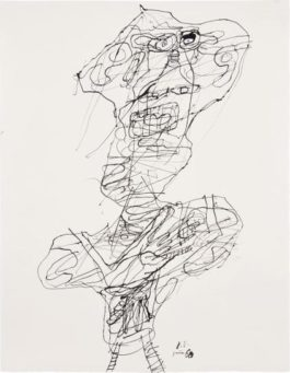 Jean Dubuffet-Personnage (No. 25)-1960