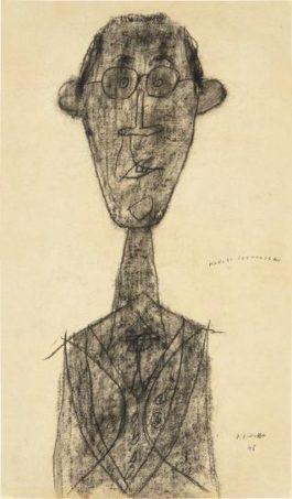 Jean Dubuffet-Jouhandeau Innocent-1946