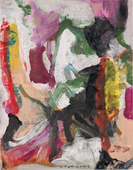 Willem de Kooning-Untitled-1976