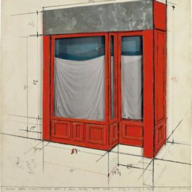 Christo and Jeanne-Claude-Orange Store Front (Project) Part I-1966