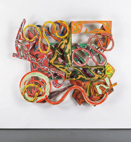 Frank Stella-Misano-1981