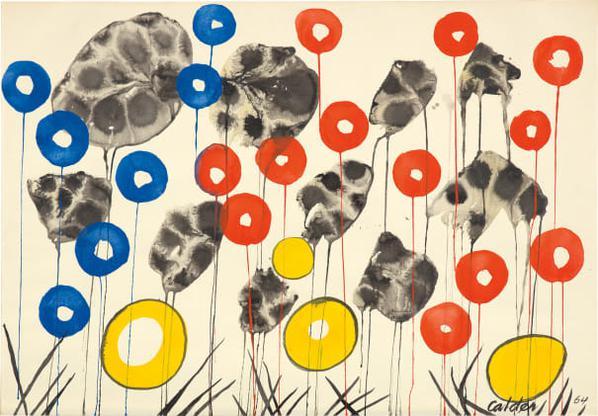 Alexander Calder-Meadow Grass-1964
