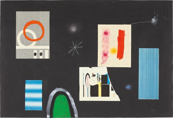 Joan Miro-Untitled III-1964