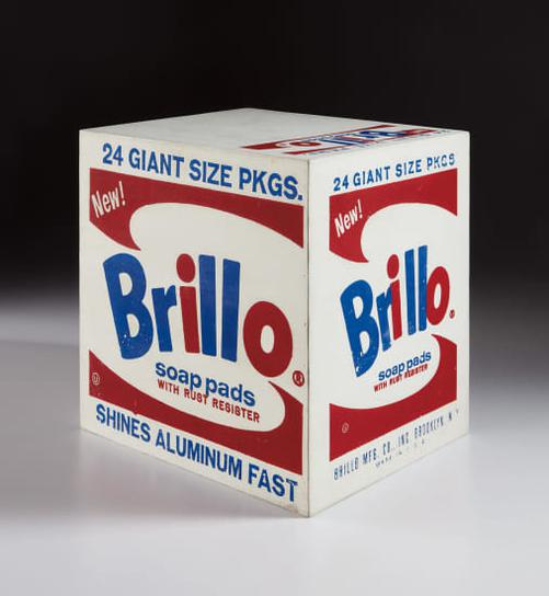 Andy Warhol-Brillo Soap Pads Box-1964