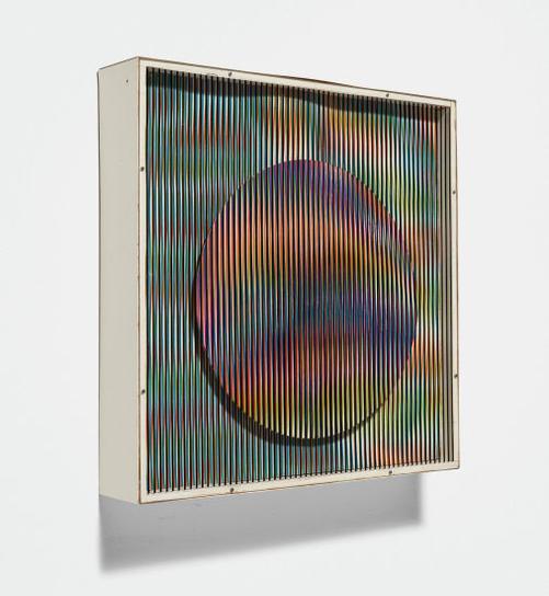 Carlos Cruz-Diez-Chromointerference Mecanique-1970