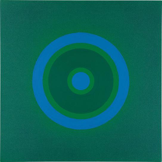 Kenneth Noland-Mysteries: To Blue-1999