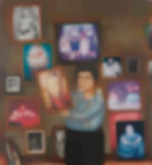 Fernando Botero-Portrait Of Nadine Haim-1977