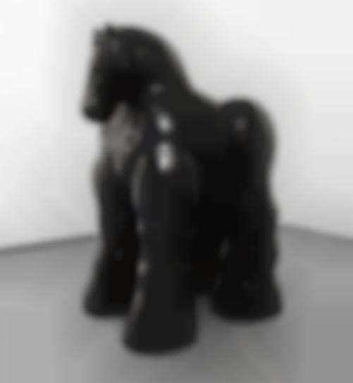 Fernando Botero-Horse-1992