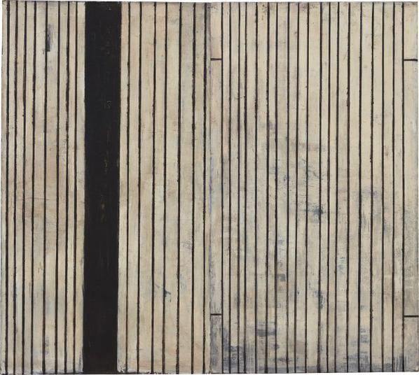 Piero Pizzi Cannella-Nero, Ferro, Battuto; Sottile, Ferro, Battuto (Diptych)-1988