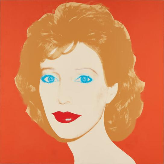Andy Warhol-Portrait Of A Woman (Linda Oxenberg)-1985