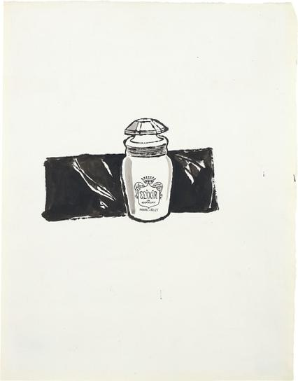 Andy Warhol-Elixir De Markoff Royal Jelly-1960
