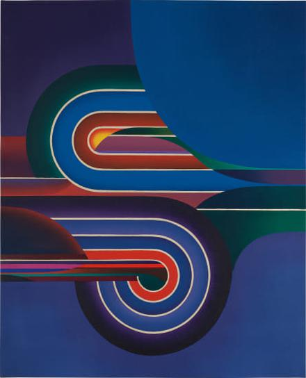 Kazuya Sakai-Pintura N°14, Serie II-1974