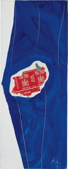 Robert Motherwell-Pall Mall On Blue-1972