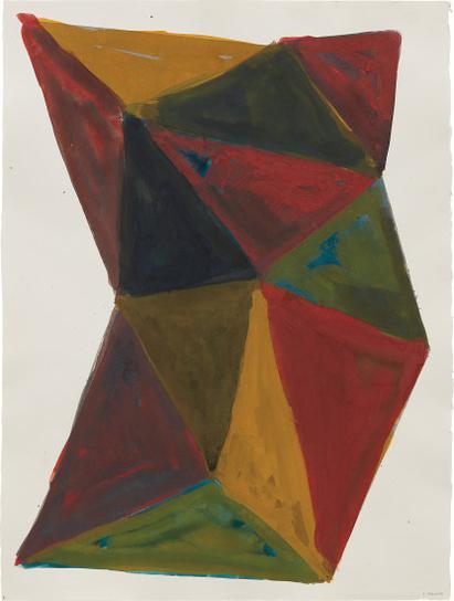 Sol LeWitt-Complex Form-1987