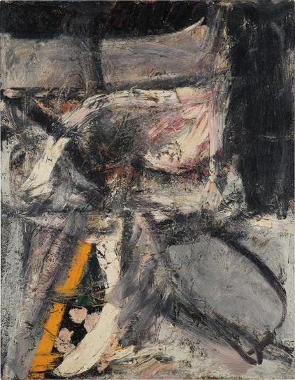 Alfred Leslie-Seated Figure-1952