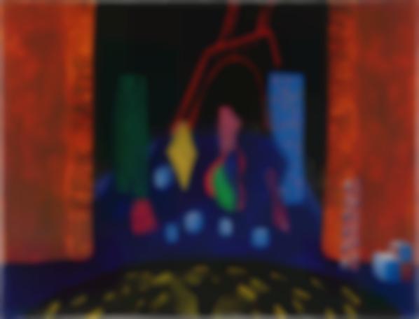 David Hockney-Study From Parade Triple Bill-1980