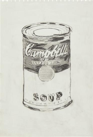 Andy Warhol-Soup Can-1962