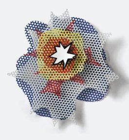 Roy Lichtenstein-Small Wall Explosion-1965